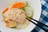 特別な豆腐の皮料理 — ストック写真