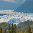 Closeup of majestic glacier — Stock Photo