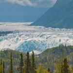 Closeup of majestic glacier — Stock Photo