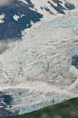 Closeup of glacier texture — Stock Photo