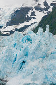 Closeup of Surprise Glacier — Stock Photo