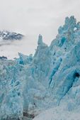 Towering glacial shapes — Stock Photo