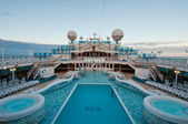 View of top deck — Stock Photo