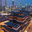 Buddha Tooth Relic Temple - Stock Photo