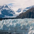 Interesting glacial textures — Stock Photo
