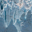 Macro shot of glacier — Stockfoto