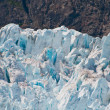 Stock Photo: Closeup of glacier details