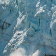 Calving view of huge glacier — Stock Photo #7007797