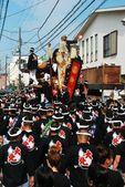 Danjiri festival no japão — Foto Stock