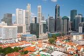 Chinatown et gratte-ciels — Photo