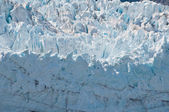Macro of Margerie Glacier — Stock Photo