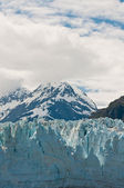 Margier Glacier with mountain — Stock Photo