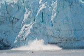 Margerie Glacier calving — Stock Photo