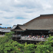 View of Kiyomizu Temple and pagoda — Stock Photo