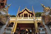 Double Dragon temple — Stock Photo
