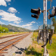 Rail signal — Stock Photo
