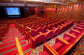 Tiyatro boş sandalye — Stok fotoğraf