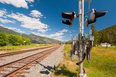 Rail signal — Stock Photo