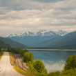 Highway and majestic vistas — Stock Photo