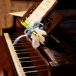 Old piano — Stock Photo #7202488
