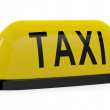 Stock Photo: Taxi sign