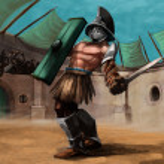 The gladiator — Stock Photo