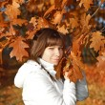 Autumn woman — Stock Photo #6882159