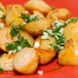 Stock Photo: Roast potato