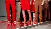 血液のファッション — ストック写真