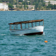 Boat at Sevastopol harbor — Stock Photo