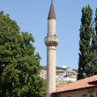 Minaret in ancient mosque - Stok fotoraf