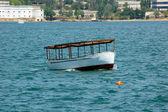 Boat at Sevastopol harbor — Stock Photo