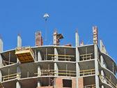 Ñoncrete formwork on construction site — Stock Photo