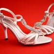 buty ślubne — Zdjęcie stockowe