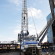 workover rig — Stock Photo