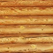 Wooden logs wall of rural house background — Stock Photo #6917365