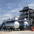 Stockfoto: Oil refinery