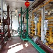 Industrial interior in oil and gas processing — Zdjęcie stockowe #6917390