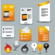 Web business &amp; office icons - Stock Vector