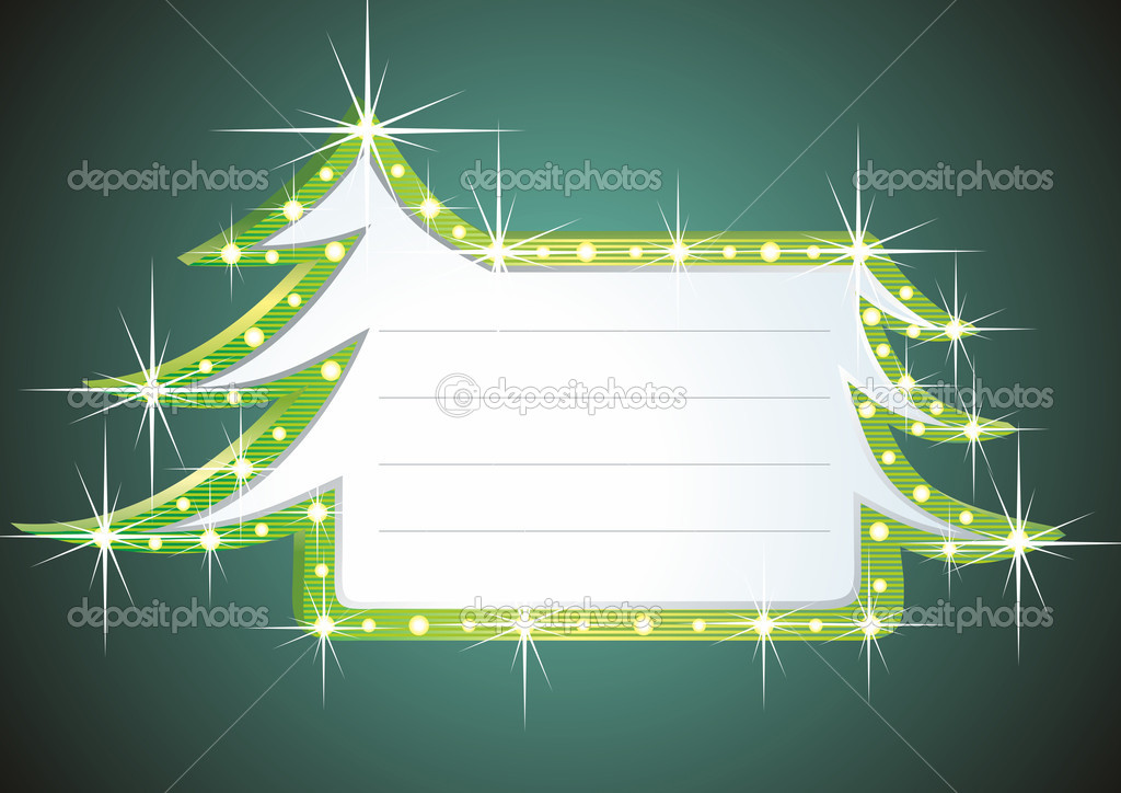 Christmas banner — Stock Photo #7037476