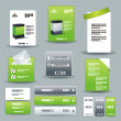 Collection Of Website Elements — Stock Vector #7131346