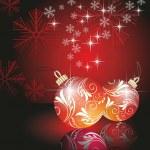 weihnachtskugeln — Stockvektor