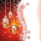 Julkort. vektor — Stockvektor