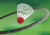 A tennis racket — Stock vektor