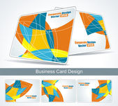 Vector business card set — Stock Vector