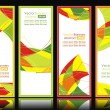 Set of abstract banners. — Stock Vector #7911495