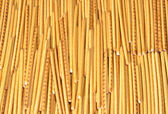 Long thin biscuit sticks — Stock Photo