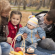 Family in park — Stock Photo #7735699