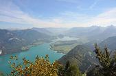 View over salzkammergut — Stock Photo