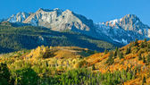 Mount Sneffel, Ridgeway, Colorado — Foto Stock